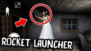 Granny has a ROCKET LAUNCHER in Granny Horror Game! (NEW SECRET HIDDEN WEAPON)