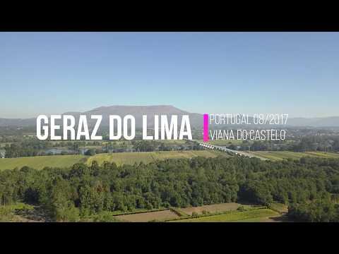 Geraz do Lima - Viana do Castelo - Com drone DJI MAVIC 082017