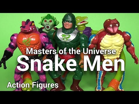 Snake Men He-Man & The Masters Of The Universe Original Series Classic Action Figures thumbnail