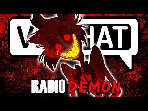 The Voice Of Radio Demon TERRIFIES VRchat Users (Alastor)