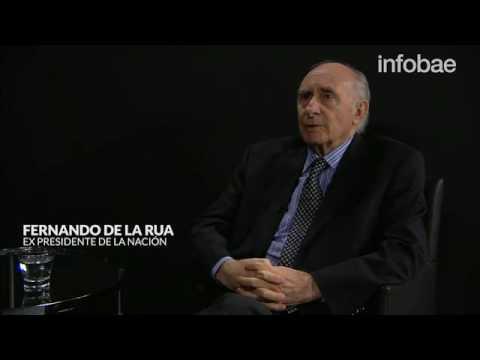 Entrevista a Fernando De La Rua por Ceferino Reato