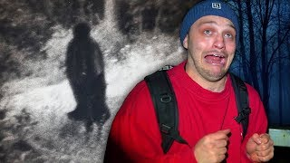 Spending The Night In UK's Most Haunted Forest (dont go here)
