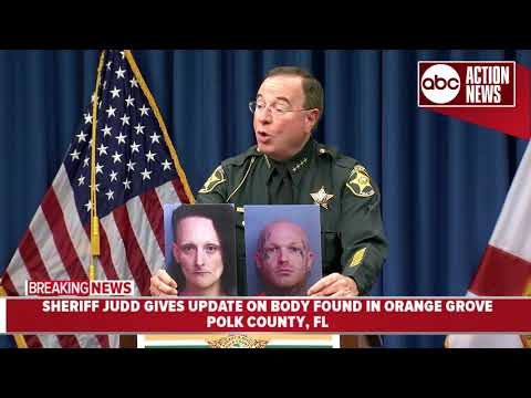 Sheriff Judd provides update on body found in orange grove