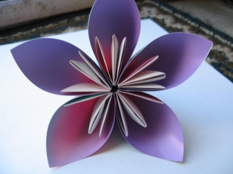 How to make origami kusudama flower youtube how to make origami kusudama flower mightylinksfo