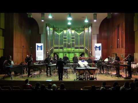 Lucian Zbarcea - GameFonie for 13 percussionists