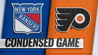 11/23/18 Condensed Game: Rangers @ Flyers