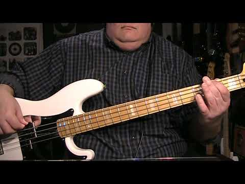 David Lee Roth Just Like Paradise Bass Cover with Notes & Tab