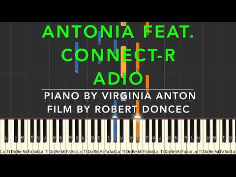 Adio Antonia feat. Connect R Piano Cover