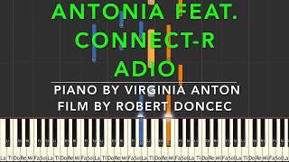 Adio Antonia feat. Connect R Piano Cover