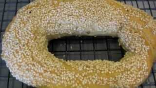 Sesame Bread, Simit - كعك بالسمسم , كعك القدس