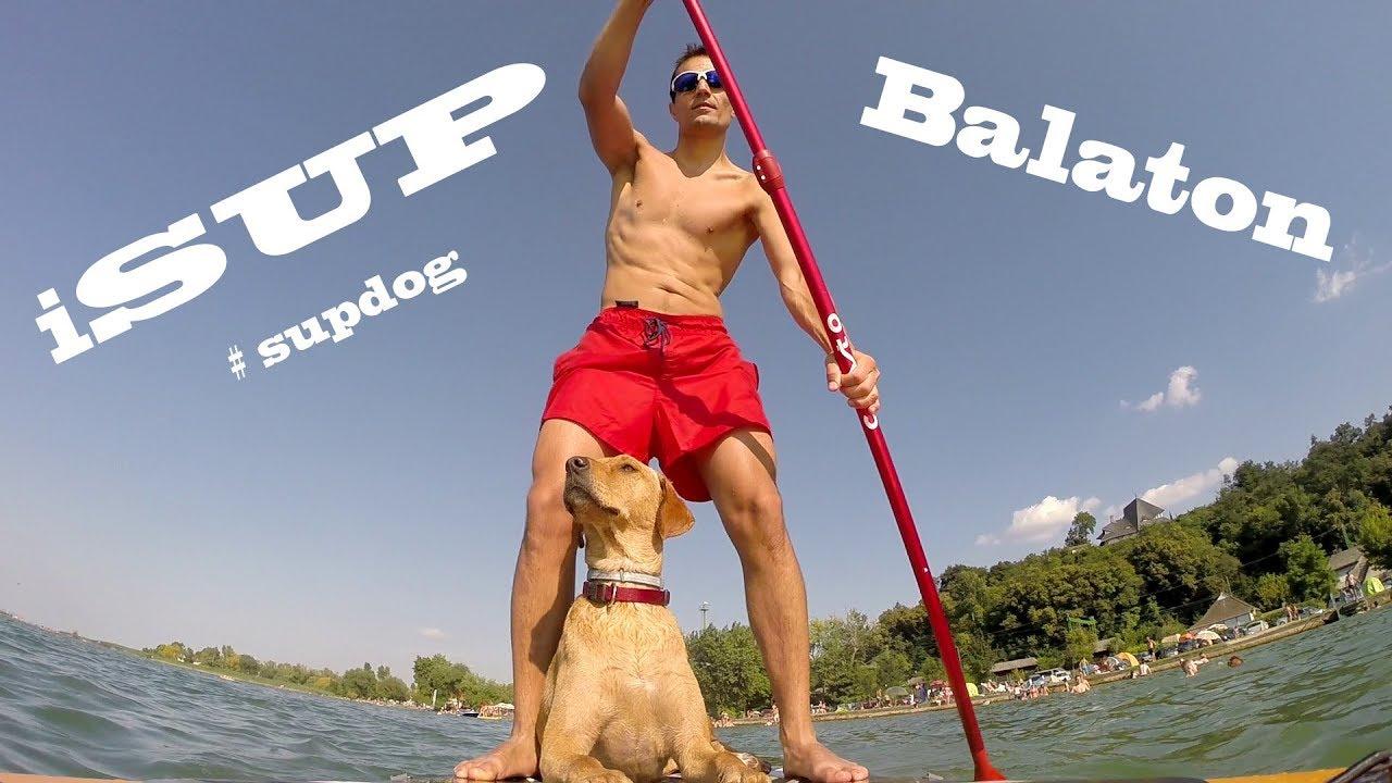 iSUP - SUPdog, Balaton