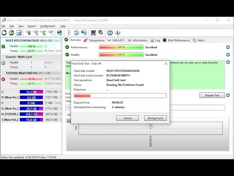 Installation Best HDD Health Check Tool Hard Disk Sentinel Pro - YouTube