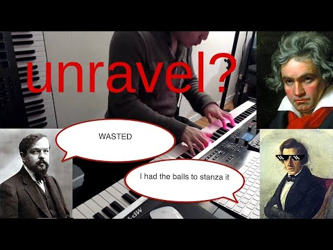 Ep. 1 - Unravel but actually it's 4 classical composers creating a sick medley