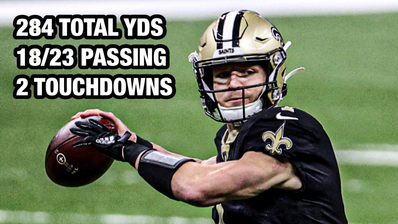 Taysom Hill's FIRST NFL START vs. Falcons Goes for 284 Total Yds & 2TDs!