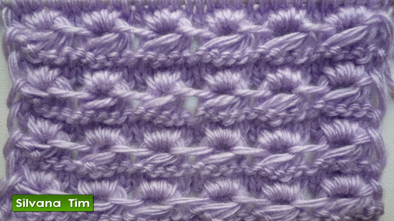 Punto puntada caracoles caracol tejido con dos agu - Tipos puntos dos agujas ...