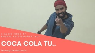 Coca Cola Tu Dance Cover - Luka Chuppi | Krishna Salsa | Krishna Entertainment Act.