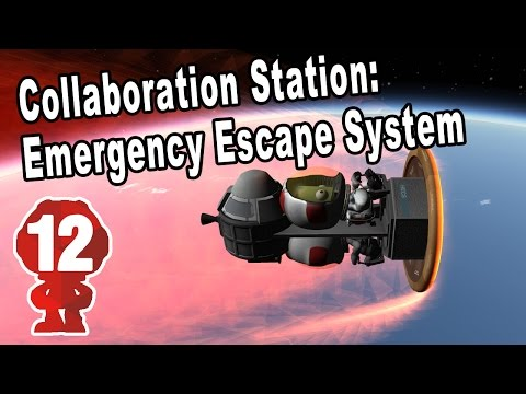 "Collaboration Station #12 ""Escape System - and some crazy landings"" -- KSP"