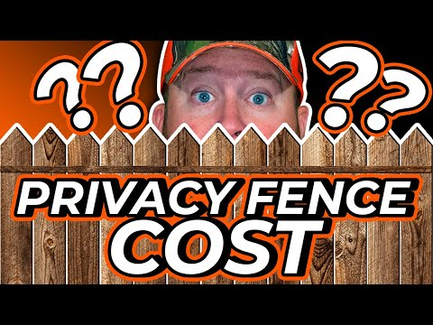 How Much Does A Fence Cost? - Privacy Fence Cost EXPLAINED