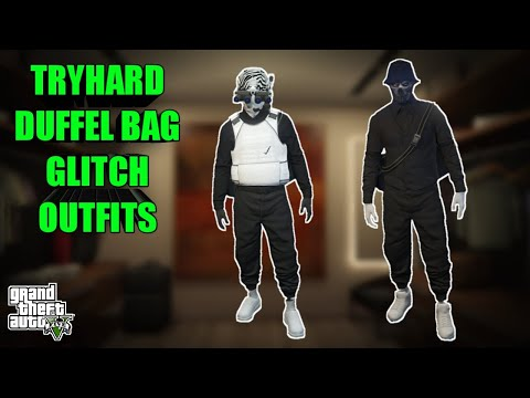 2 TRYHARD GLITCH OUTFITS GTA 5 ONLINE