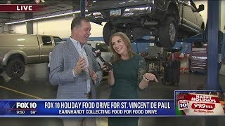 Earnhardt Ford joins FOX 10 Holiday Food Drive, part 2