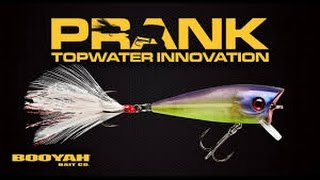 SHALLOW DIVING POPPER?!? BOOYAH PRANK