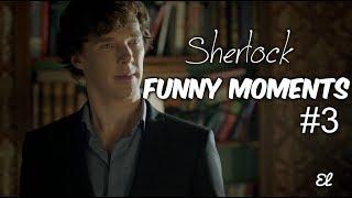 Sherlock | Шерлок | Смешные моменты #3
