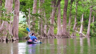 Kayak & Overnight Haṁmock Camp Scenic Texas River