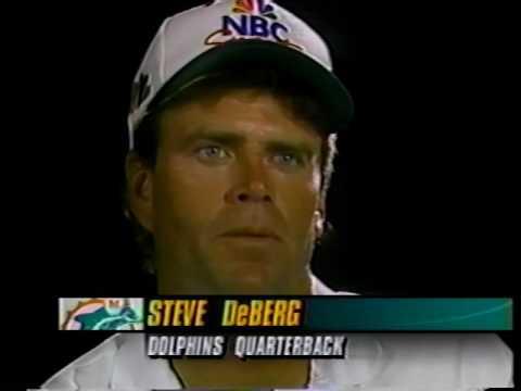 1993 Wk 12 Pregame: Steve DeBerg Starts For Miami