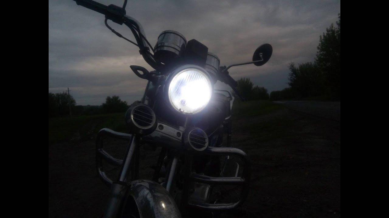 Мото лампа стоп сигнала мопеда. Светодиодные лампы для мопедов .