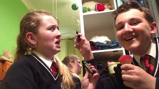 i do hollys makeup without knowing what is what