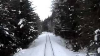 Amtrak Empire Builder in Washington State - Cascade Mountains