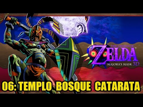 The Legend of Zelda: Majora's Mask 3D #06 - TEMPLO BOSQUE CATARATA: ODOLWA - Guía 100% en español