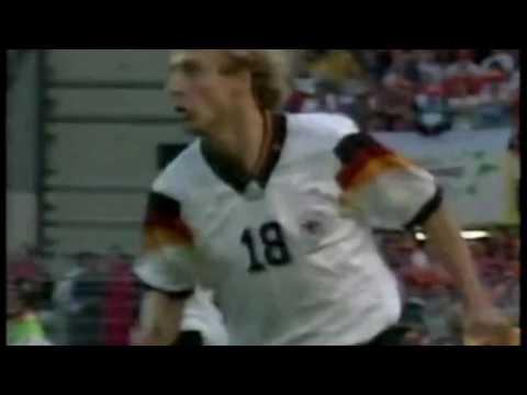 Jürgen Klinsmann (Germany): goals and chances
