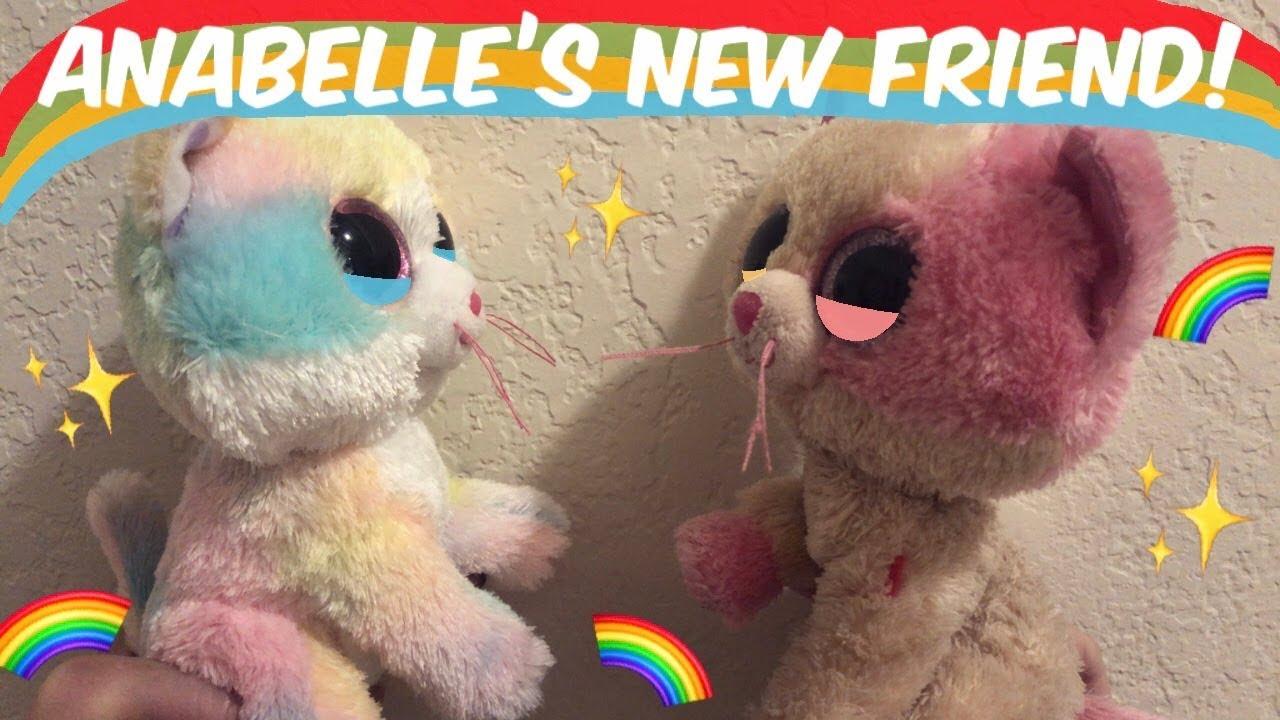 a7f6e4f4baa Beanie Boo s  Anabelle s New Friend! - YouTube