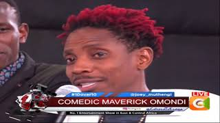 Eric Omondi , Fred Omondi and YY exclusive on 10 over 10