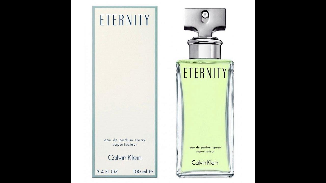 fd76c0bc8b848 ETERNITY - Calvin Klein - Perfumes Importados - YouTube