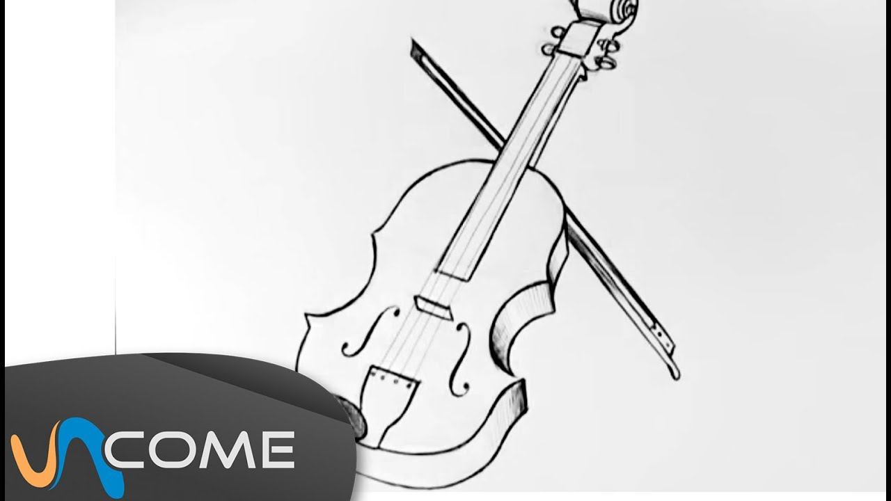 Come disegnare un violino facilmente youtube - Come disegnare interni ...