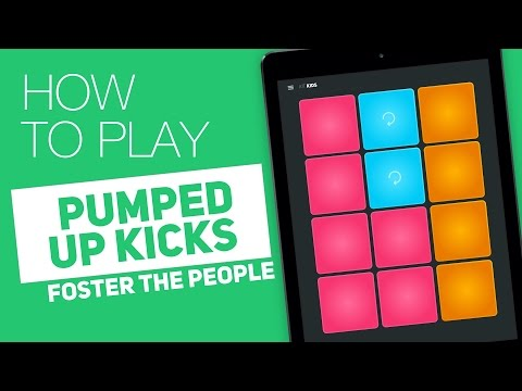 How to play: Pumped up Kicks (Foster The People) - SUPER PADS - Kids Kit