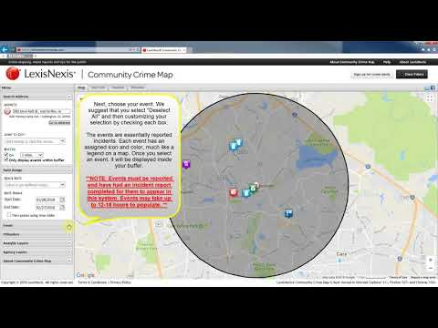 Morrisville Community Crime Map Tutorial