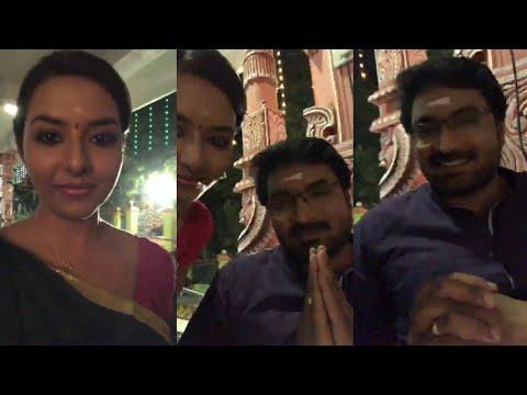 Naam Iruvar Namakku Iruvar Serial Aravindh & His Sister Today Live Video
