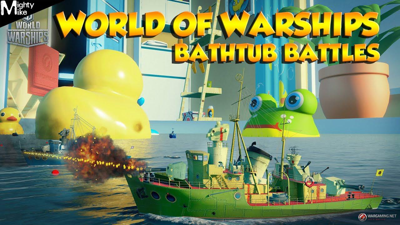 Charming World Of Warships   Bathtub Battles (Greek)