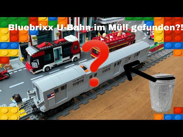 Bluebrixx U-Bahn im Müll gefunden?! Ist sie wirklich so schlecht?