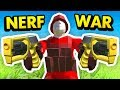 NEW NERF WAR BATTLE IN RAVENFIELD (Ravenfield Funny Gameplay)