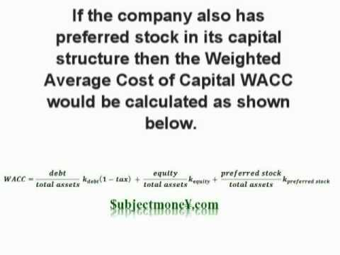 Weighted Average Cost of Capital WACC - What is the definition and ...