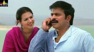 Maryada Ramanna Movie Brahmaji Comedy with Saloni | Sunil, SS Rajamouli | Sri Balaji Video