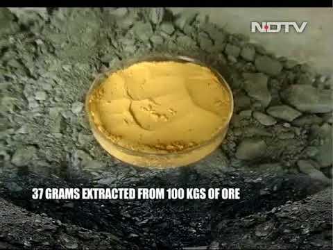 A close look inside the India's Uranium Mine.