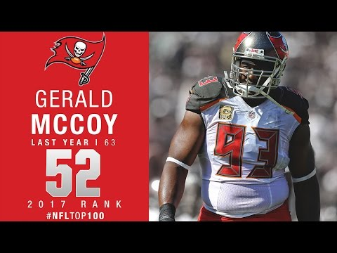 #52: Gerald McCoy (DT, Buccaneers) | Top 100 Players of 2017 | NFL