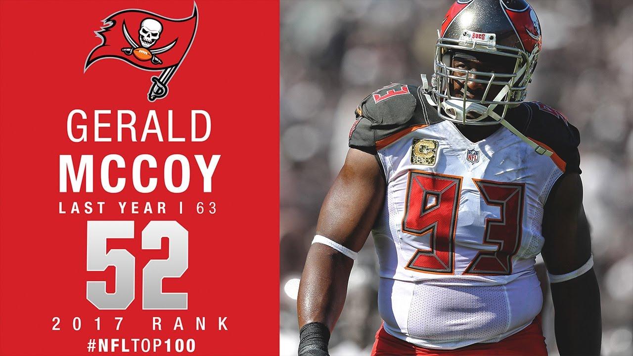52 Gerald McCoy DT Buccaneers Top 100 Players of 2017