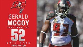 #52: Gerald McCoy (DT, Buccaneers) | Top 100 Players of 2017 | NFL