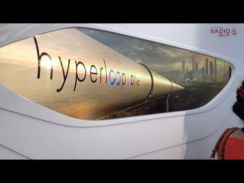 EXCLUSIVE First Look: Hyperloop In Dubai!
